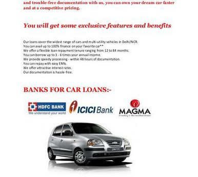 Affinity Car Loan Rates